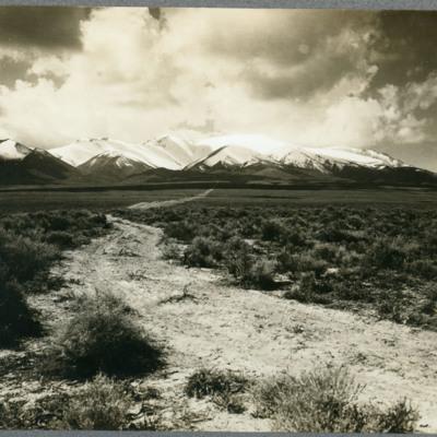 Humbolt Mts. from near Imlay.