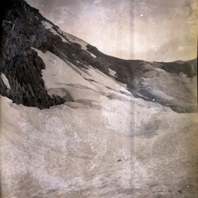 Donkin Pass & Bergschrund