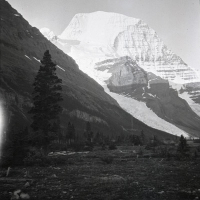 Mt. Robson . 5:30 AM from camp July 17 or 18
