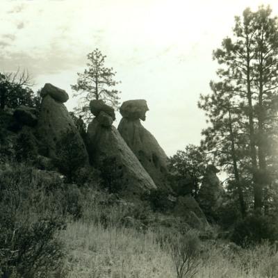 Erosion near Santa Fe.