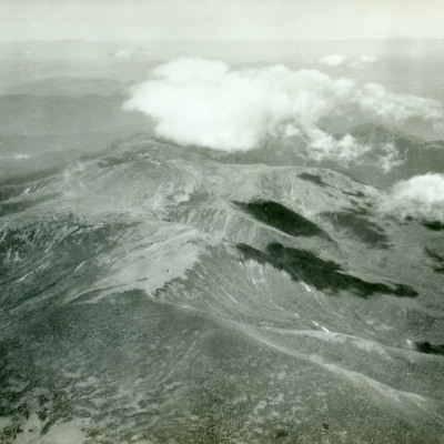 Looking north from Mt. Washington showing Gulf of Slides.