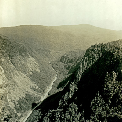 Dixville Notch looking South.
