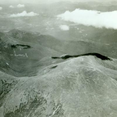 Mt. Washington showing Great Gulf (left).