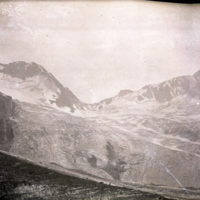 Donkin pass from Dawson Moraine