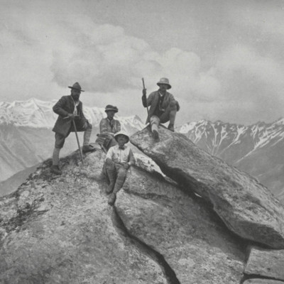 The Workmans on the Summit of Mt. Buspar