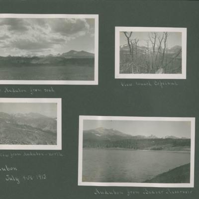 Page title: Audubon July 4-5-6- 1913