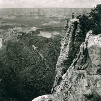 """Suiside Rock"" near Grand View, Grand Canyon"