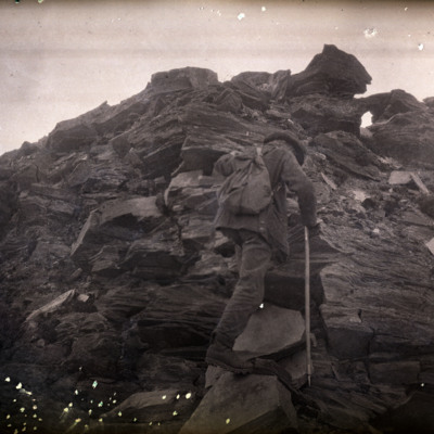 Holway on Ridge so. of Bishop's camp