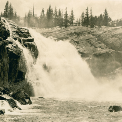 White Cascade, Tuolumne Canyon, (just above Conners Creek).