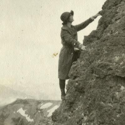 Mary Cronin Climbing