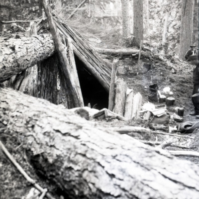 First camp ground Trapper's hut