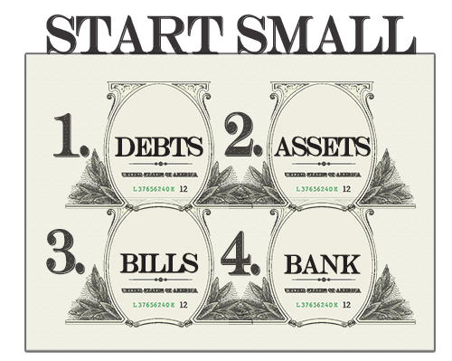 financial management start small
