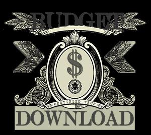 Personal finance budget worksheet download