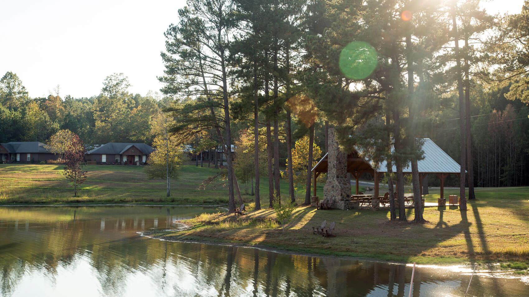 across-lake
