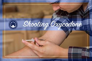 Shooting oxycodone