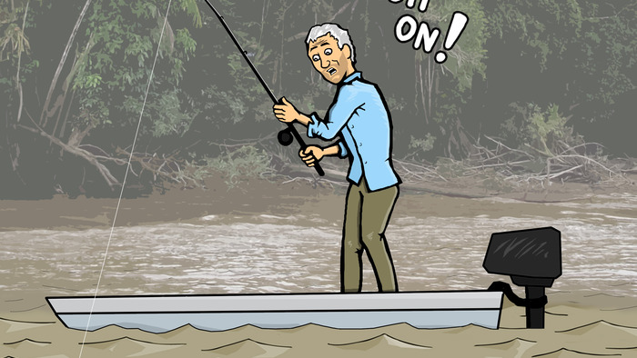 River Monsters illustration