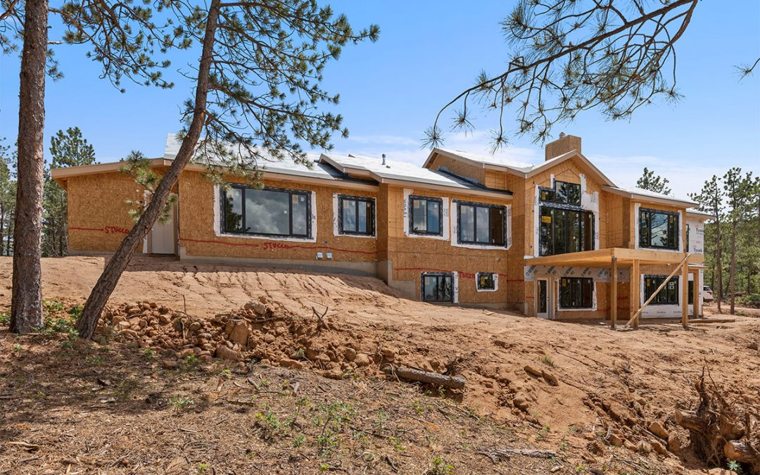 New Custom Home in Larkspur, Colorado