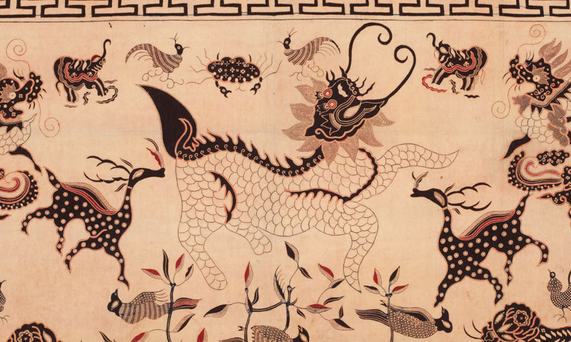 Altar-cloth-animals-indonesia-batik