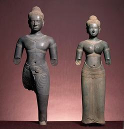 The Hindu deities Shiva and Parvati