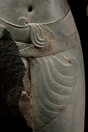 The Hindu deity Shiva detail