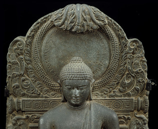 The Buddha triumphing over Mara