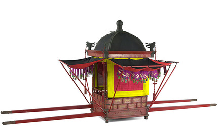 Palanquin of a king