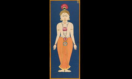 Chakra Body folio 4 from the Siddha Siddhanti Paddhati
