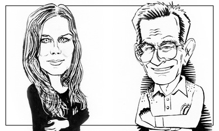 Allison_Harding_and_Forrest_caricaturesjpg