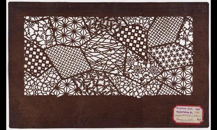Textile stencil