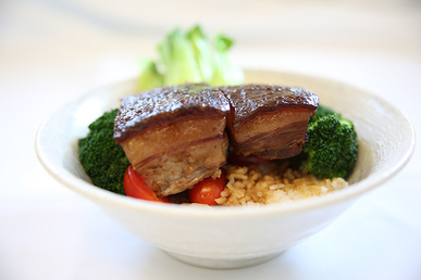 Cafe Asia dongpo pork