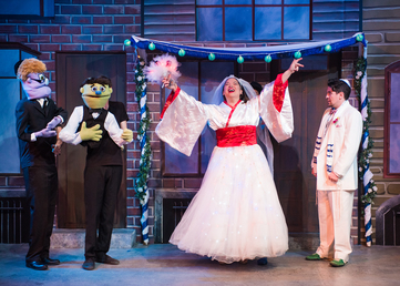 Avenue Q Photo by New Conservatory Theater Center