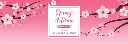 Spring Artisan Market flyer