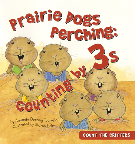 Prairie Dogs Perching: Counting by 3s