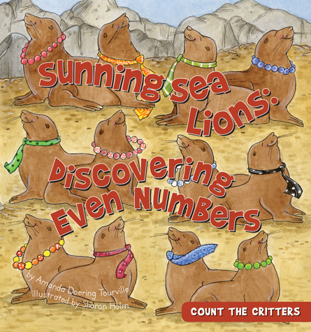 Sunning Sea Lions: Discovering Even Numbers