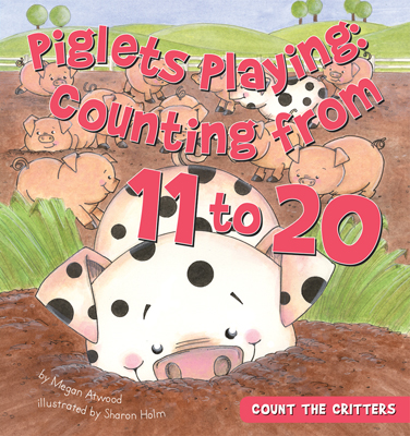 Piglets Playing: Counting from 11 to 20