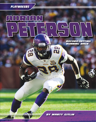 Adrian Peterson: Record-setting Running Back