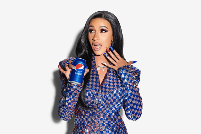 Pepsi partners with Cardi B