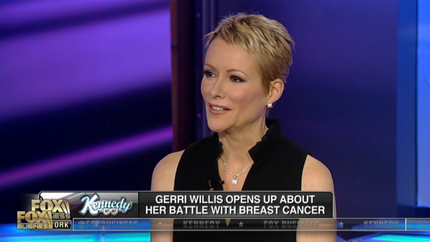 Fox Business Network anchor Gerri Willis returned to FBN last fall ...