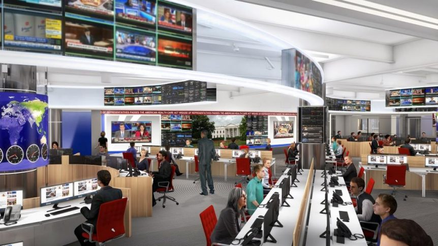 Fox News Announces Plans For New Centralized Newsroom