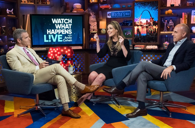 Andy Cohen's Dog Nearly Bit Savannah Guthrie