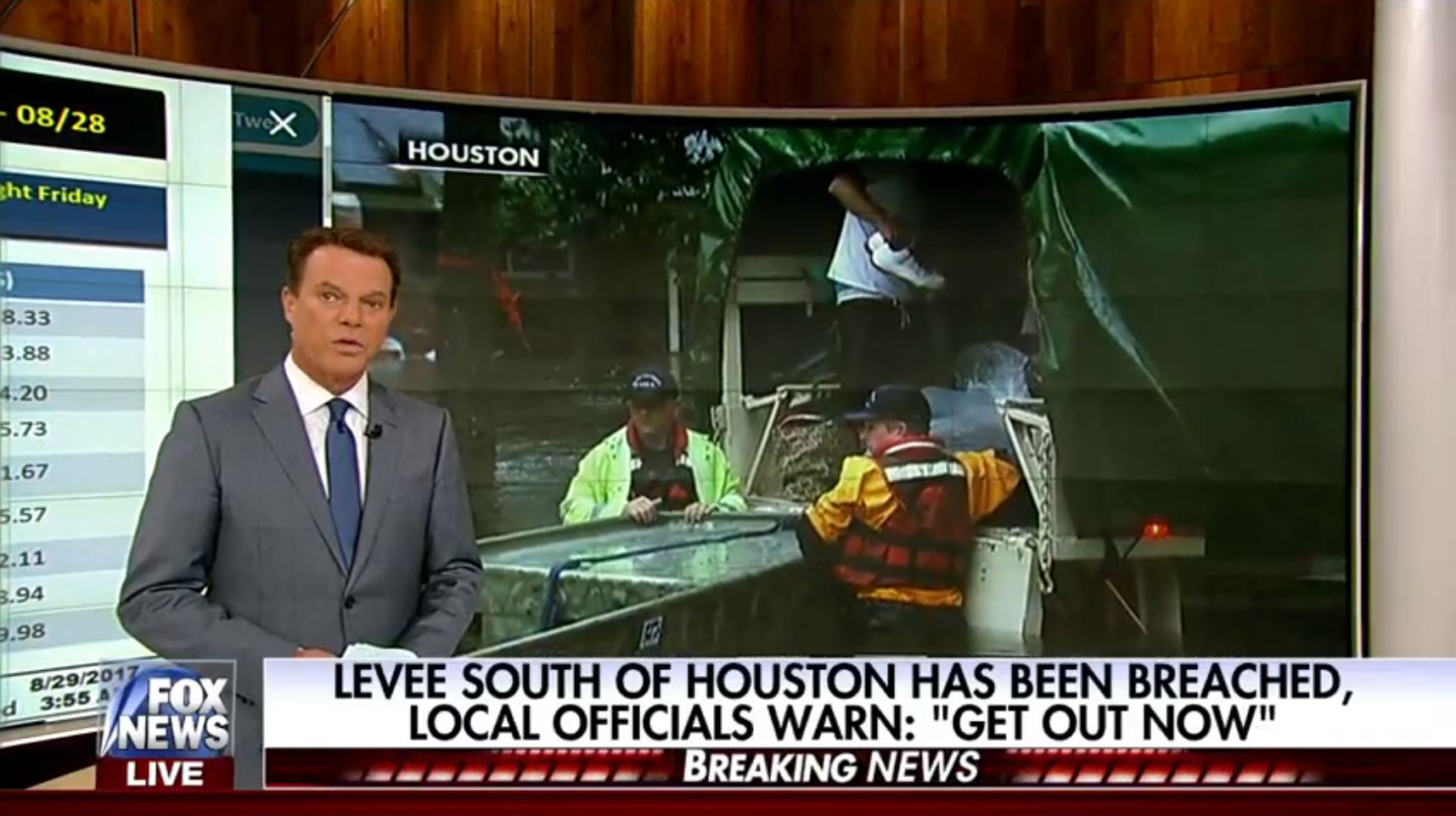 here are hurricane harvey cable news ratings