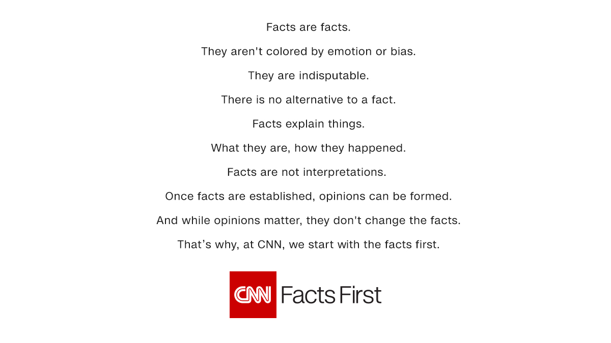 CNN Takes on Alternative Facts