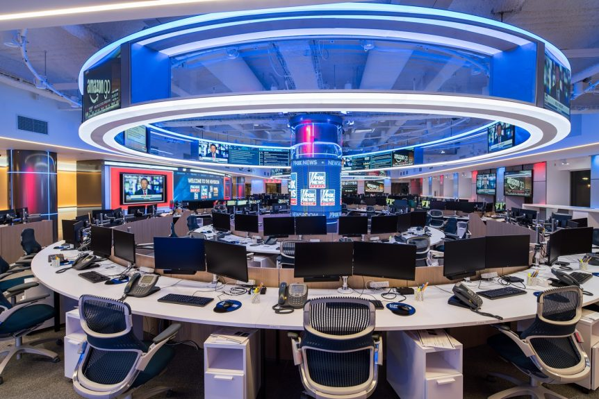 Here\'s a First Look at Fox News\' New Newsroom   TVNewser