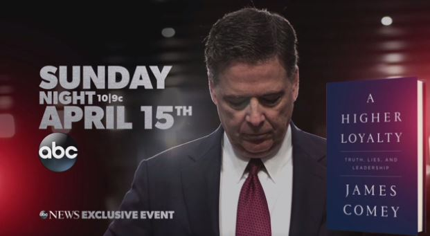 Abc News Got A Plum Spot During The Oscars Last Night To Promote George Stephanopoulos Interview With Former Fbi Director James Comey
