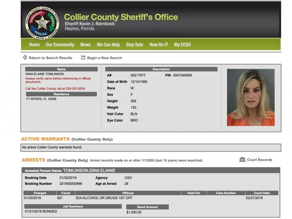 Fort Myers Reporter Arrested