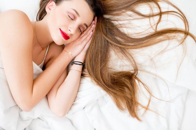 Bedtime Hair Routine Keranique