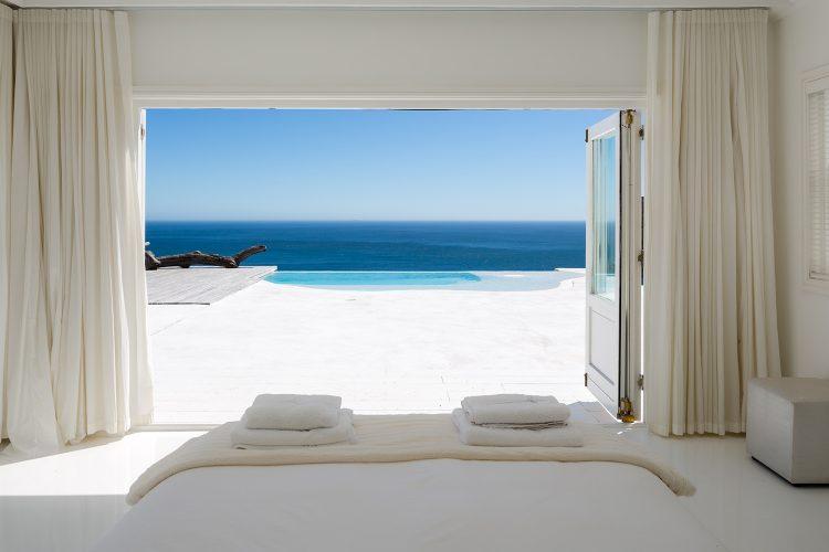 Two views beach house accommodation hunter