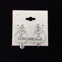 Cubic Zirconia Dangling Earring