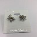 Pearl Bow Earring