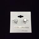 Cubic Zirconia Stud Earring (XL)